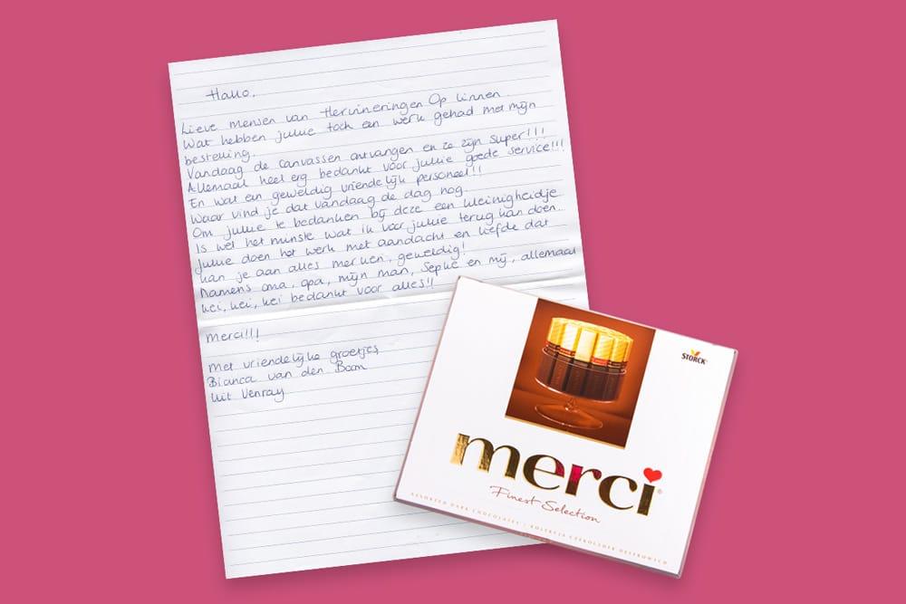 Handgeschriebenen Brief