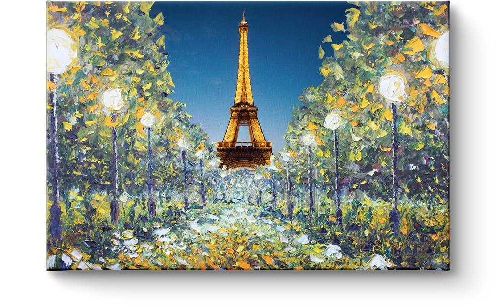 Eiffelturm auf Leinwand
