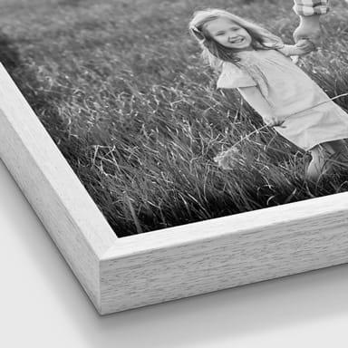 Foto auf Leinwand mit Rahmen