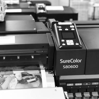 Epson Leinwand printer