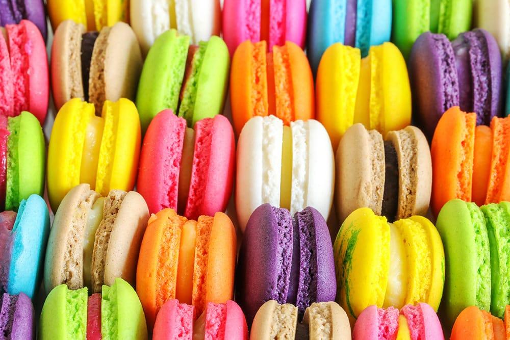 Farbe macarons